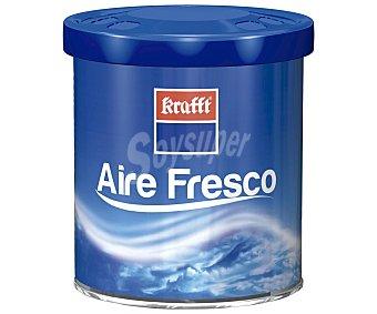 Krafft Ambientador en gel para coche, en envase de lata con dosificador y con olor a aire fresco 1 unidad
