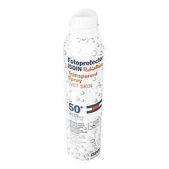 Isdin Fotoprotector Pediatrics transparente spray FP 50+ para piel mojada 200 ml