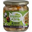 Bio alubias guisadas con verduras producto ecológico Frasco 345 g Bajamar