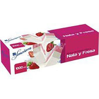 SOMOSIERRA Helado Bloque nata fresa 1 litro
