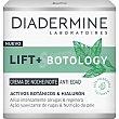 Lift+ Botology crema de noche anti-edad activos botánicos & hialurón Tarro 50 ml Diadermine