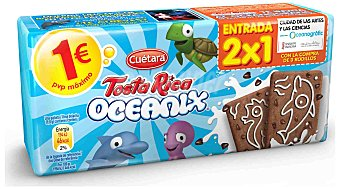 Tosta Rica Galletas Tosta Rica Oceanix 160 g