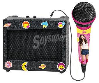 Disney Karaóke portátil con amplificador y micrófono Soy Luna 1 unidad