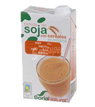 Soria Natural Bebida de soja con cereales ecológica 1 l