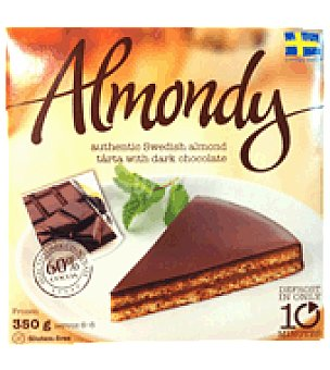 Almondy Tarta almendra con chocolate negro 350 g.