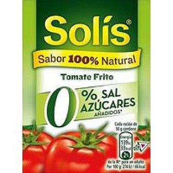 Solís Tomate Frito casero 0% 350g