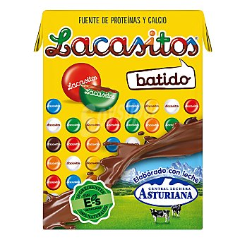 Central Lechera Asturiana Batido con sabor a lacasitos, bajo en lactosa 3 x 200 ml
