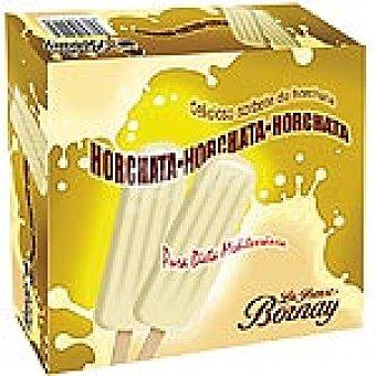 La Ibense Bornay Polo de helado de sorbete de horchata 8 unidades estuche 520 ml 8 unidades