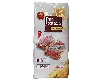 Auchan Pan Tostado Integral 80 Unidades (720 Gramos)
