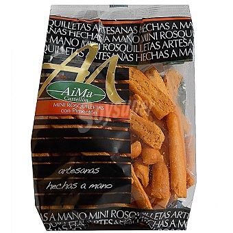 AIMA Mini rosquilletas con pimentón Bolsa 150 g