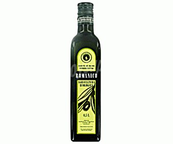 Románico Aceite de oliva virgen extra ecológico Botella 500 ml