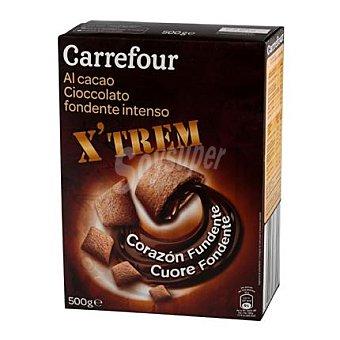 Carrefour Cereales rellenos de chocolate 500 g