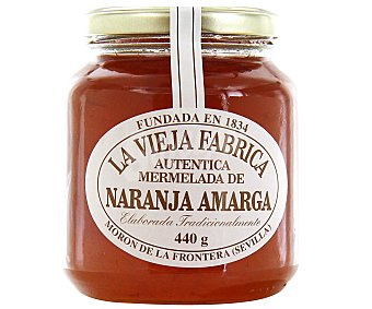 La Vieja Fábrica Mermelada de naranja sin gluten 440 gramos