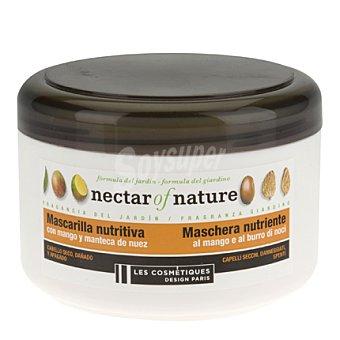Les Cosmétiques Mascarilla Mango & Nuez para cabello seco - Nectar of Nature 400 ml