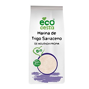 Ecocesta Harina de trigo sarraceno bio Bolsa 500 g