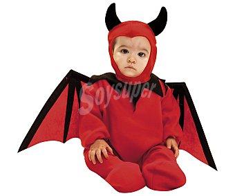 My other me Disfraz para bebé Diablillo, incluye gorrito, mono, alas y rabo, talla 12-24 meses 1 unidad