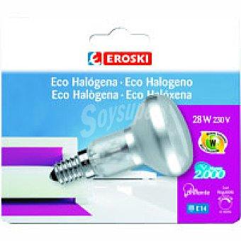 Eroski Eco Halo Reflec 28w E14 Bl1