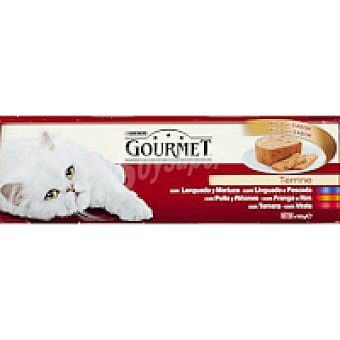 Gourmet Purina Lenguado Gold Pack 3x195 g