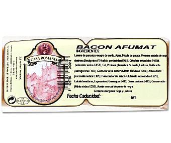 Dunarea Bacon ahumado 400 Gramos