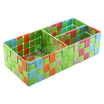 QUO Caja rectangular con 3 compartimentos Dec