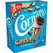 Cono de nata cookies cornetto, 4 uds Caja 240 g Cornetto Frigo