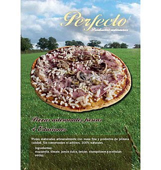 Pizza perfecto escalivada 400 g