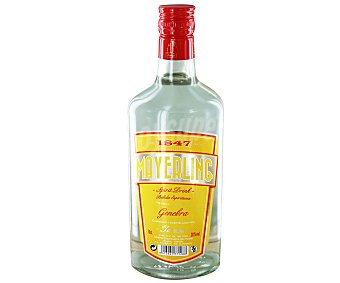 MAYERLING Bebida espirituosa de ginebra Botella de 70 centilitros