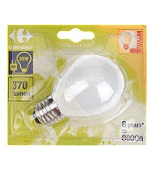 Carrefour Bombilla ecologica esferica 8W E27 luz calida