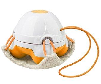 MEDISANA HM840 Masajeador manual a prueba de agua apto para el baño, con almohadilla loofah efecto peeling