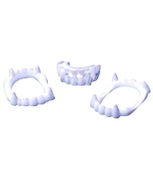 12 dentaduras blancas