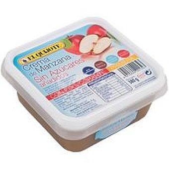 El Quijote Crema de manzana sin azúcar Tarrina 380 g