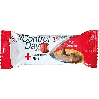 Nutrisport Barritas sustitutivas y quemagrasas sabor galleta Control Day 44 g