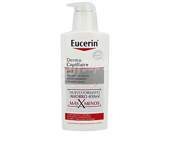 Eucerin Champú para cuero cabelludo sensible 400 mililitros