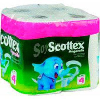 Scottex Papel de cocina Paquete 3+1 rollos