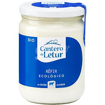 El Cantero de Letur Kéfir ecológico de vaca Frasco 420 g