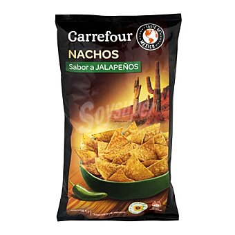 Carrefour Nachos sabor a jalapeños 200 g