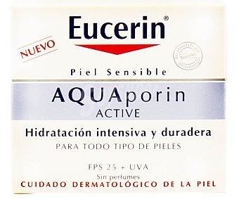 Eucerin Crema facial hidratante especial para pieles sensibles con factor de protección 25 50 ml