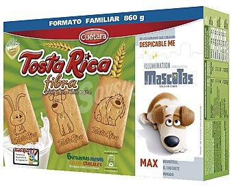 Tosta Rica Galleta con fibra 800 g