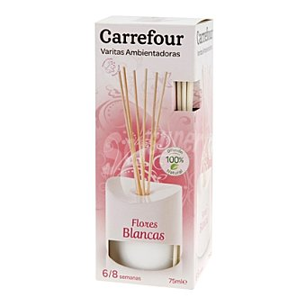 Carrefour Ambientador varilla Flores Blancas 75 ml