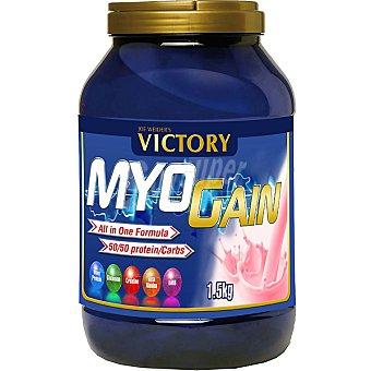 VICTORY CLASSIC Myo Gain Masa muscular sabor fresa envase 1500 g Envase 1500 g