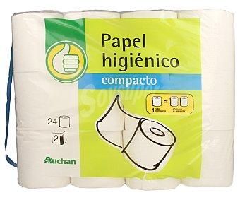 Productos Económicos Alcampo Papel Higiénico Compacto 2c 24u