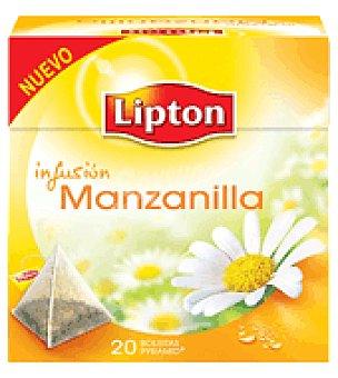 Lipton Infusión manzanilla pirámides 20 ud