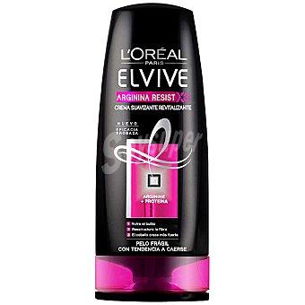 Elvive L'Oréal Paris Crema suavizante Arginina Resist revitalizante para cabello frágil con tendencia a caerse Frasco 250 ml