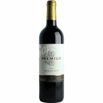 Premius Vino Tinto Burdeos Botella 75 cl