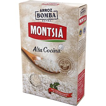 Montsia Arroz bomba alta cocina Caja 1 kg