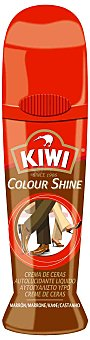 Kiwi Crema Líquida Marrón con esponja 75 ml