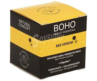 Boho Bálsamo labial de veneno de abeja (hidratante más voluminizador) 10 g