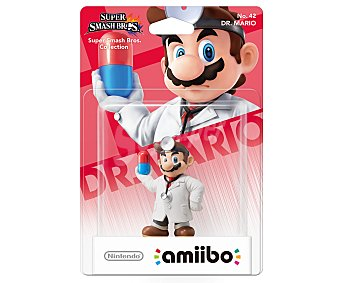 Nintendo Figura amiibo Doctror Mario, serie Super Smash Bros, compatible con wiiu, Nintendo New 3Ds y New 3Ds XL 1 unidad