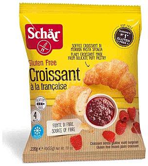 SCHAR Croissant a la francesa sin gluten  4 unidades (220 g)
