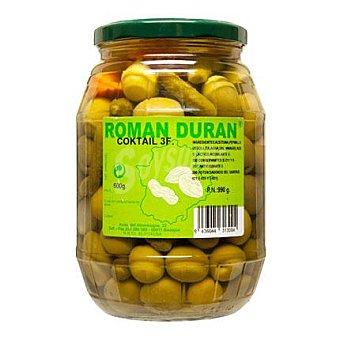 Román Durán Cocktail aceitunas tarro 800 g